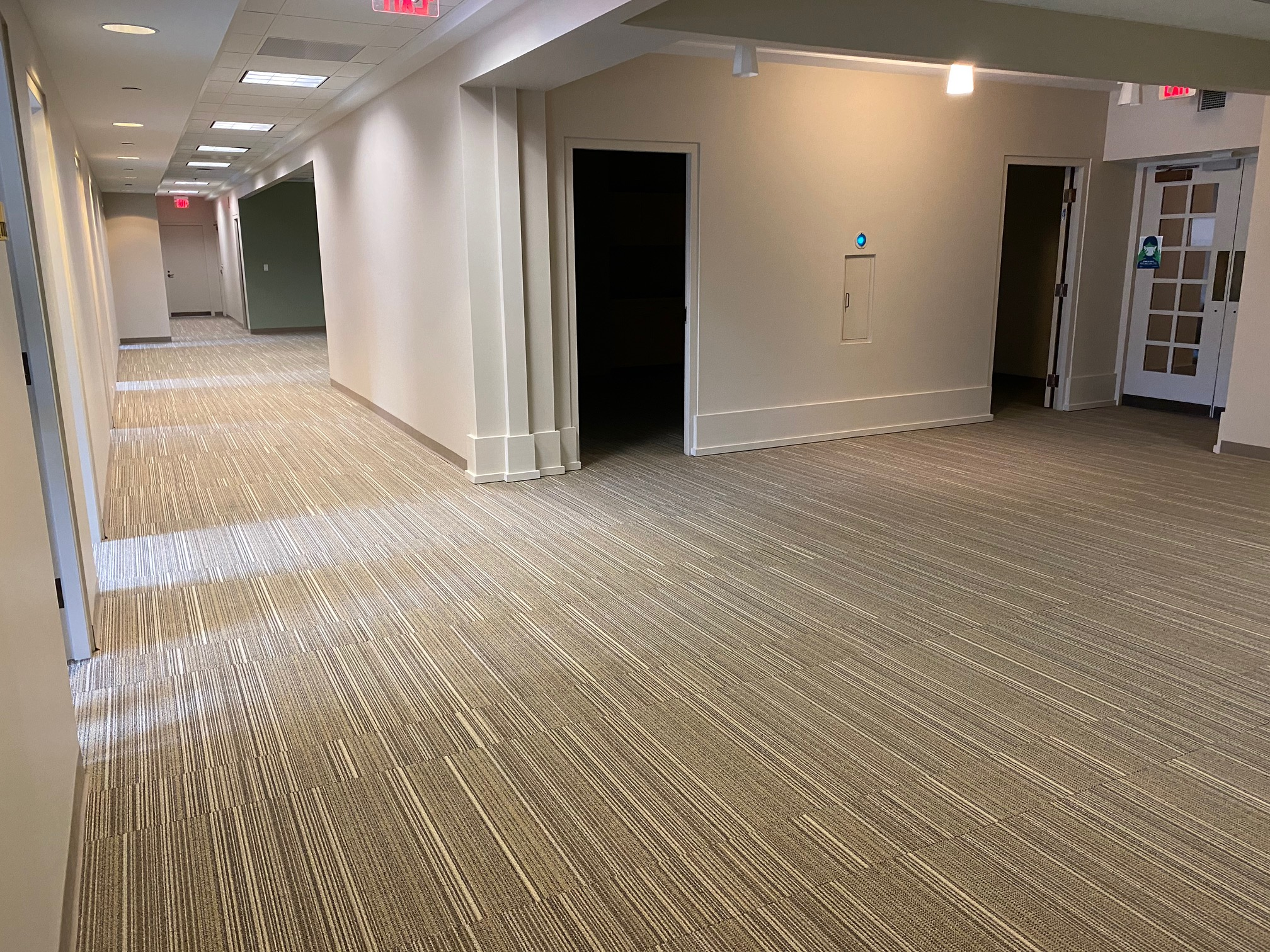 Large hallway area in a building